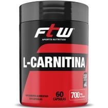 L-Carnitina 350mg 60 CÁPsulas Fitoway -