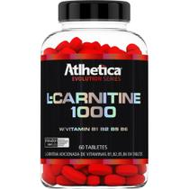 L-Carnitine 1000 60 Tabs- Atlhetica Nutrition -