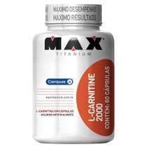 L-Carnitine 2000 60 Cáps - Max Titanium -