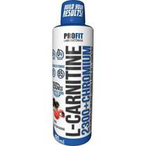 L-Carnitine 2300 c/ Chromium 480ml- L Cartinina- Profit Labs -