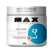 L-g max glutamina 300g  max titanium -