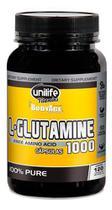 L Glutamina 100% Pura 1000mg 120 Cápsulas - Unilife -