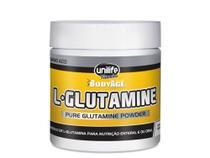 L-Glutamina 100 pura em pó 300g Unilife -