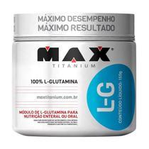 L Glutamina 150g Max Titanium -