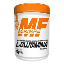 L-glutamina 300 g - musclefull (natural) -