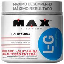 L-glutamina - 300g - Max Titanium -