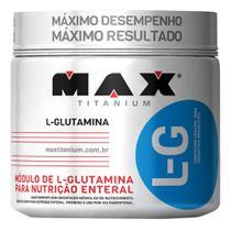 L Glutamina 300g Max Titanium -