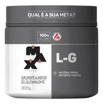 L-Glutamina 300g Max titanium -