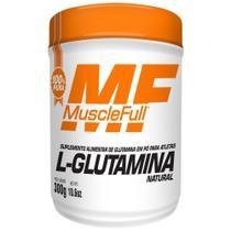 L-Glutamina - 300g Natural - MuscleFull - Muscle Full -