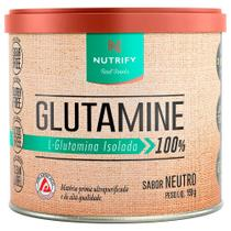 L-Glutamina Isolada Nutrify 150g - Integralmedica