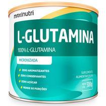 L-glutamina micronizada 300g maxinutri -