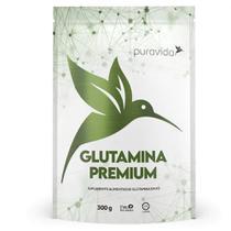 L-glutamina Premium 300g Pura Vida  Vegano - Puravida