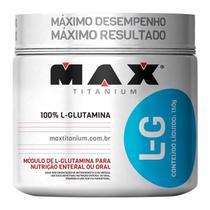 L-Glutamine com 150g - Max Titanium -
