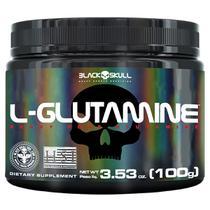L-glutamine - glutamina - 100g - Black Skull