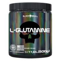 L-glutamine - glutamina - 500g - Black Skull