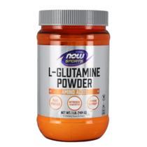 L Glutamine Powder 454g - Glutamina Pó Now Foods Sports - Now Sports