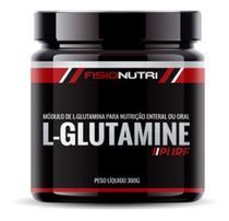 L-glutamine Pure - 300g - Recuperação Muscular - Fisionutri -