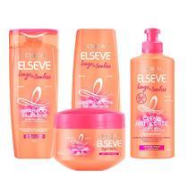 L'Oréal Paris Elseve Longo dos Sonhos Kit - Shampoo + Condicionador + Creme para pentear + Tratamento -