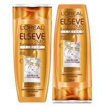 L'Oréal Paris Elseve Óleo Extraordinário Cachos Kit - Shampoo + Condicionador -