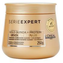 L'Oréal Professionnel Absolut Repair Gold Quinoa + Protein - Máscara de Tratamento -