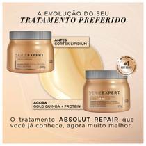 L'Oréal Professionnel Serie Expert Absolut Repair Gold Quinoa + Protein - Máscara Capilar 500g -