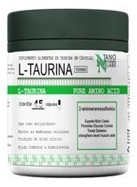 L- Taurina 100% Pura - Nano Farma Labs - 45 Cápsulas -