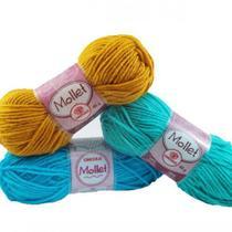 Lã Mollet 40g Colorida - Circulo
