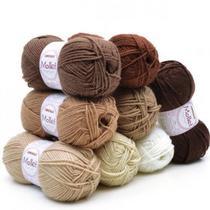 Lã Mollet Colorida 100g - Circulo