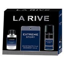 La Rive Extreme Kit - Eau de Toilette + Desodorante -