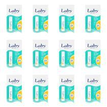 Laby Care Menta Protetor Labial Fps15 5g (Kit C/12) -