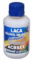 Laca Base Agua Acrilex  Brilhante 100 ml   19510 -
