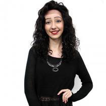LACE WIG Bianca de Cabelo Humano Cacheado Natural Brown - Bella Hair