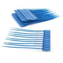 Lacre P/ Malote Numerado Azul 16 cm Pacote Com 100 Unidades Kaz -
