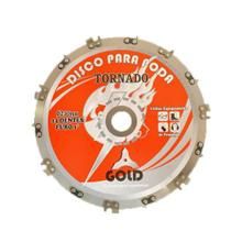 Lâmina Circular Disco para Poda p/ Roçadeira 14 dentes 230mm 1Pol - Nacional