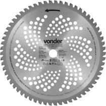Lâmina Circular para Roçadeira com Videa 255x20,0x62  - Vonder -