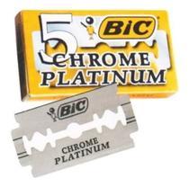 LAMINA DE BARBEAR BIC CHROME PLATINUM Cx C/ 5 LAMINAS -