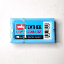 Lamina de barbear feather platinum unidade -