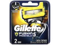 Lâmina de Barbear Gillette Fusion - Proshield 2 Peças -