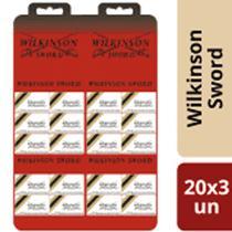 Lâmina de Barbear Inox Wilkinson Cartela 20x3 un - Burigotto