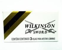 Lâmina De Barbear Wilkinson Sword Com 3 Unidades - Gilette
