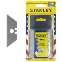 Lâmina de reposição para estilete Trapezoidal Stanley 100 peças 11-921 A -
