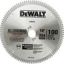 """Lâmina de Serra Esquadria Aluminio 10"""" 100 Dentes Dewalt DW03220 -"""