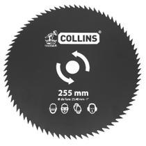 Lâmina Para Roçadeira Aço Temperado 80 Dentes Collins -