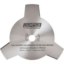 Lâmina para Roçadeira Três Pontas Furo 1 - 255 mm Thompson -