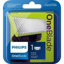 Lâmina Refil Para Barbeador Philips Walita OneBlade e OneBlade Pro - QP210 -