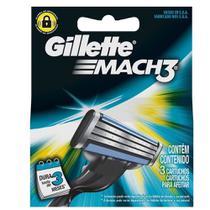 Laminas de Barbear Mach3 3 UN Gillette -