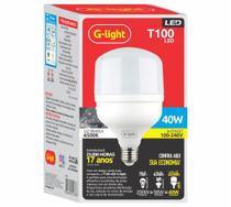 Lampada bulbo alta potencia branco frio g-light - 40w -