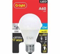 Lampada bulbo led 12w 6500k e27 - G-Light -