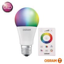 LAMPADA BULBO LED RGB 7,5w BIVOLT E27 COM CONTROLE  OSRAM -