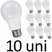 Lâmpada Bulbo Plástico 16w - Branco Frio X10 - Importado